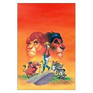 Lion King. Размер: 30 х 45 см